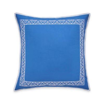 Dena™ Home Chinoiserie Garden European Pillow Sham in Blue