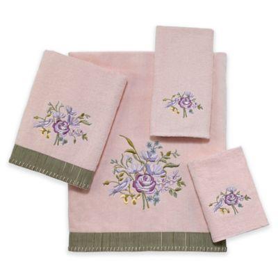Secret Garden Washcloth in Blush