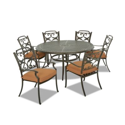 Klaussner Lowell Bay 7-Piece Outdoor Dining Set