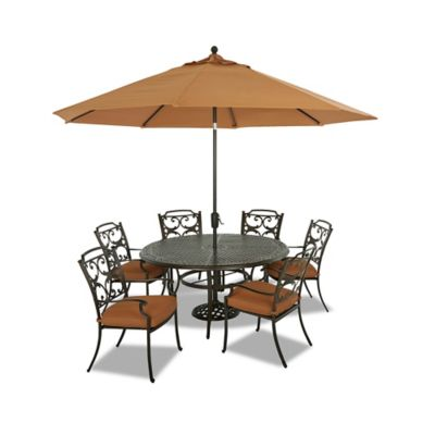 Klaussner Lowell Bay 9-Piece Outdoor Dining Set