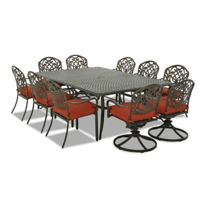 Klaussner Riviera 11-Piece Outdoor Dining Set