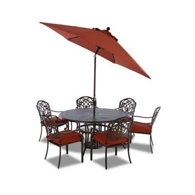 Klaussner Riviera 9-Piece Outdoor Dining Set