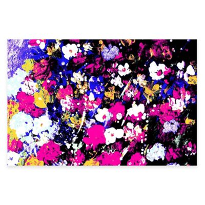 Parvez Taj Color Burst 24-Inch x 16-Inch Canvas Wall Art