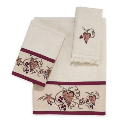 Avanti Hearts & Stars Bath Towel