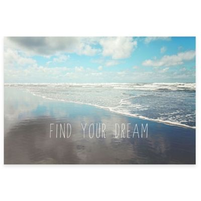 "Parvez Taj ""Find Your Dream"" 30-Inch x 20-Inch Canvas Wall Art"