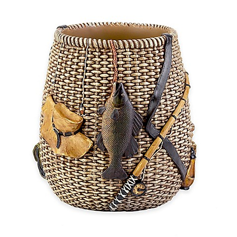 Avanti rather be fishing wastebasket bed bath beyond for Closest fishing store