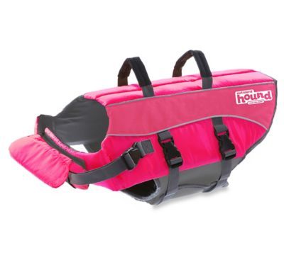 Ripstop Adjustable XS Life Jacket for Dogs in Pink