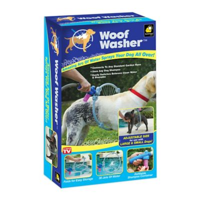 Woof Washer™ Dog Washer in White