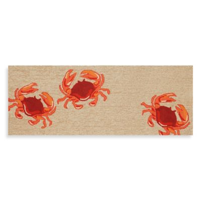 27-Inch x 72-inch Front Porch Crab Door Mat