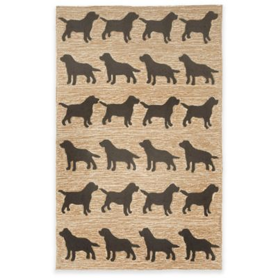 Black Doggies Rug