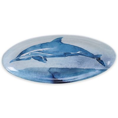 Certified International Sea Life 19.25-Inch Oval Platter