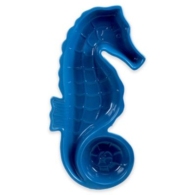 Certified International Sea Life 3D Sea Horse Chip and Dip