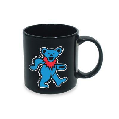 Grateful Dead Blue Dancing Bear Mug