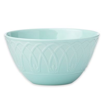 Marchesa by Lenox® British Colonial Carved® All Purpose Bowl in Aqua