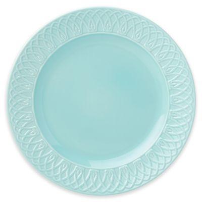 Aqua Dinner Plate