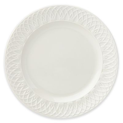 Marchesa by Lenox® British Colonial Carved® Dinner Plate in White