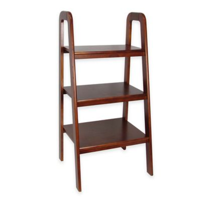 Wayborn Ladder-Style Shelf in White