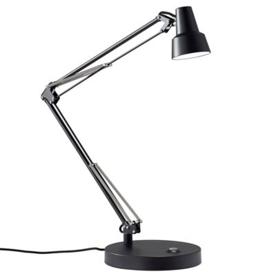 Adesso Quest LED Desk Lamp in Black