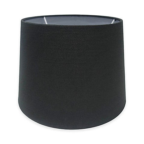 buy adesso paris 10 inch textured fabric drum lamp shade. Black Bedroom Furniture Sets. Home Design Ideas