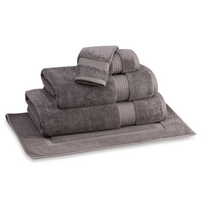 Egyptian Artistry Turkish Bath Towel in Charcoal