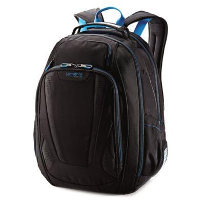 Samsonite® VizAir 2 Laptop Backpack in Black/Blue