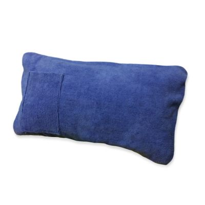 Boca Chaise Lounge Throw Pillow in Blue