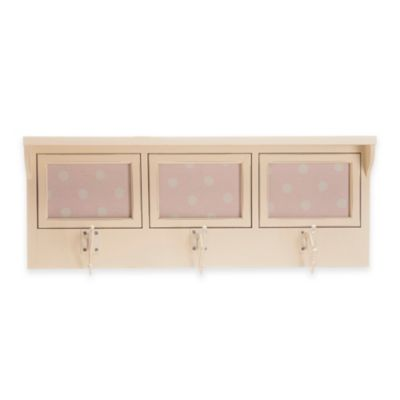 Glenna Jean Victoria 3-Opening Photo Hanger Shelf