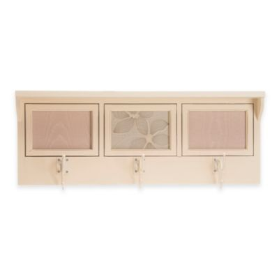 Glenna Jean Florence 3-Opening Photo Hanger Shelf