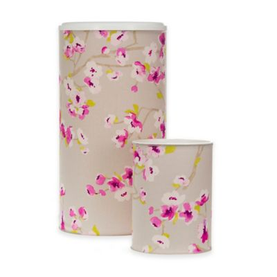 Glenna Jean Blossom Hamper and Wastebasket Set