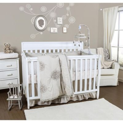 The Peanut Shell Charlotte 3-Piece Crib Bedding Set