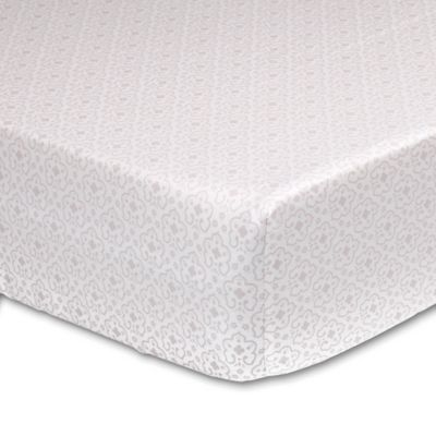 The Peanut Shell Charlotte Fitted Crib Sheet
