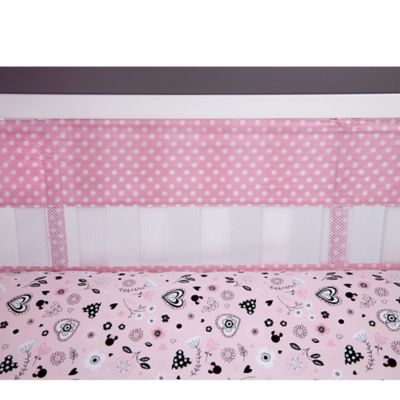 Disney® Hello Gorgeous Secure-Me Mesh Crib Liner
