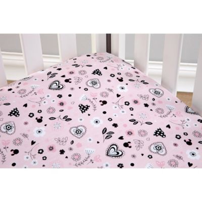 Disney® Hello Gorgeous Fitted Crib Sheet