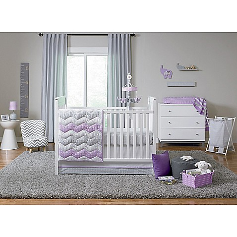 happy chic baby by jonathan adler emma crib bedding collection bed bath beyond. Black Bedroom Furniture Sets. Home Design Ideas