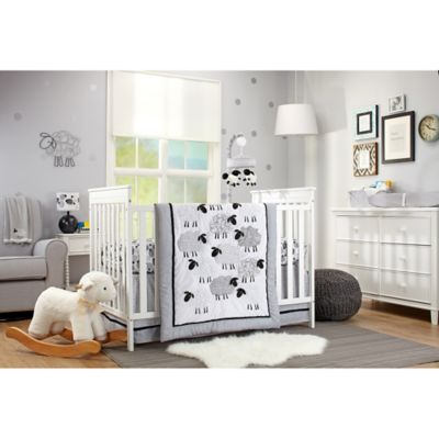 Grey/White Comforters Bedding Sets