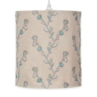 Glenna Jean Twiggy Embroidered Hanging Drum Shade Kit