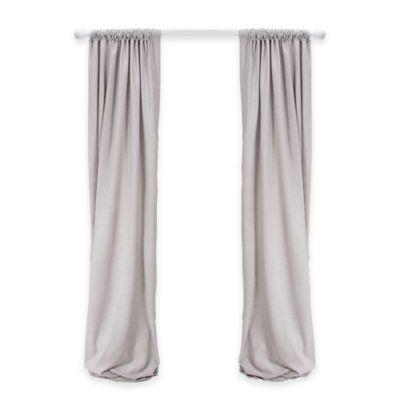 Glenna Jean Twiggy 90-Inch Window Panels in Grey (Set of 2)