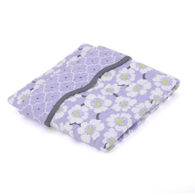 Balboa Baby® Mix & Match Coverlet in Lavender Poppy