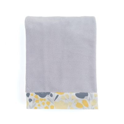 Balboa Baby® Mix & Match Simply Soft Blanket in Yellow Tulip