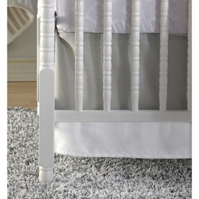 CoCaLo® Linen Crib Skirt in Grey