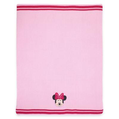 Disney® Minnie Knit Blanket