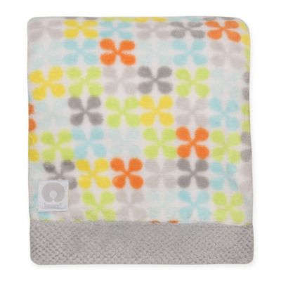 "Boppy® ""Happy"" Jacks Plush Blanket"