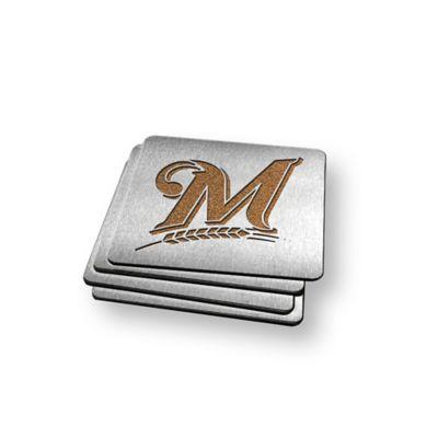 MLB Milwaukee Brewers Boasters (Set of 4)