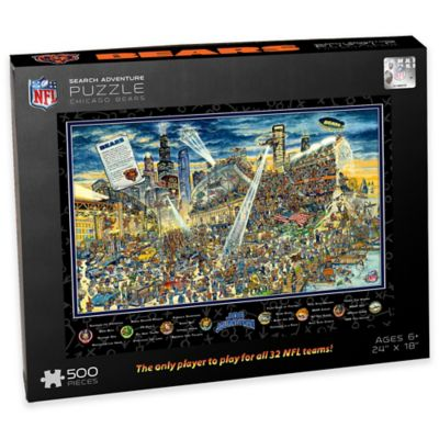 NFL Chicago Bears Joe Journeyman 500-Piece Puzzle