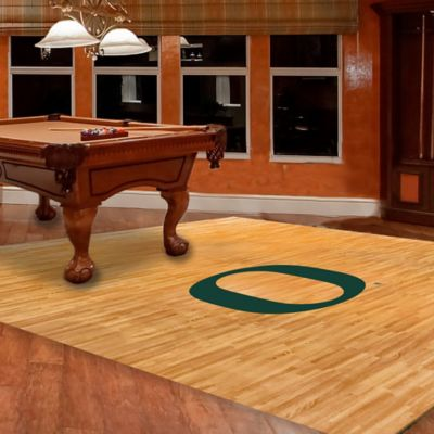 University of Oregon Foam Fan Floor