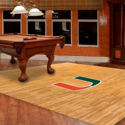 University of Miami Foam Fan Floor