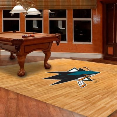 NHL San Jose Sharks Foam Fan Floor