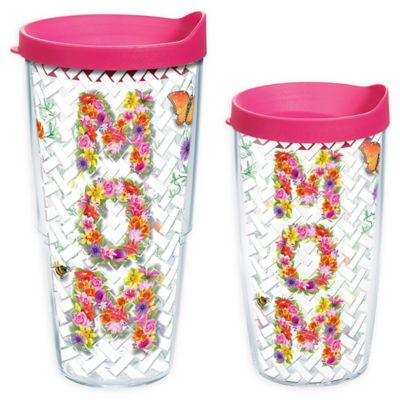Tervis® Mom Floral 16 oz. Wrap Tumbler with Lid
