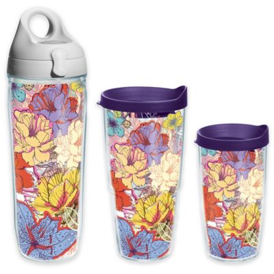 Tervis® Sketched Flowers 24 oz. Wrap Tumbler with Lid