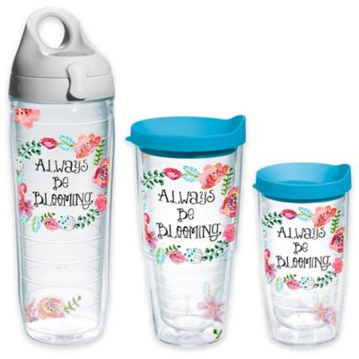 Tervis® Watercolor Floral Wreath 24 oz. Wrap Water Bottle with Lid